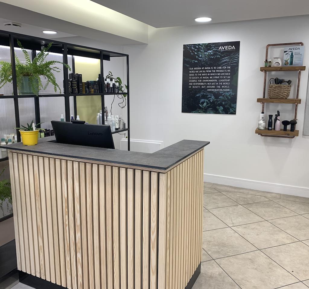 goldbird wadebridge salon interior