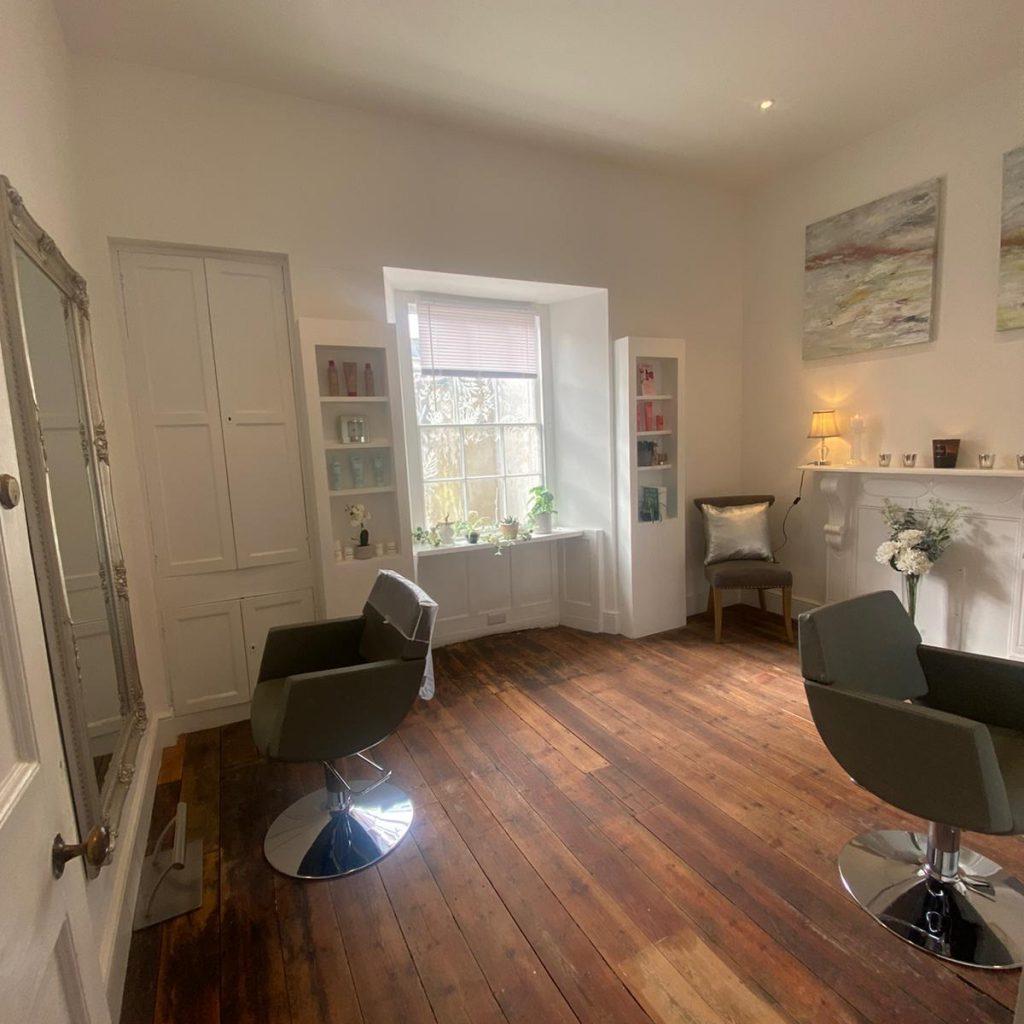 goldbird truro salon interior